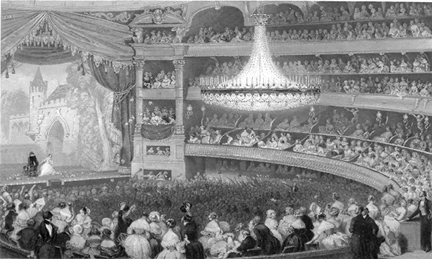 Image result for paris stage 19th century